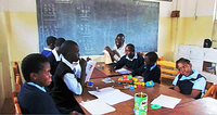 Smartboards and tablets for Zambian children